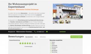 Purpurrot - Malermeister Christian Steinberger - Maler und Anstreicher - Treibach-Althofen - gutgemacht.at